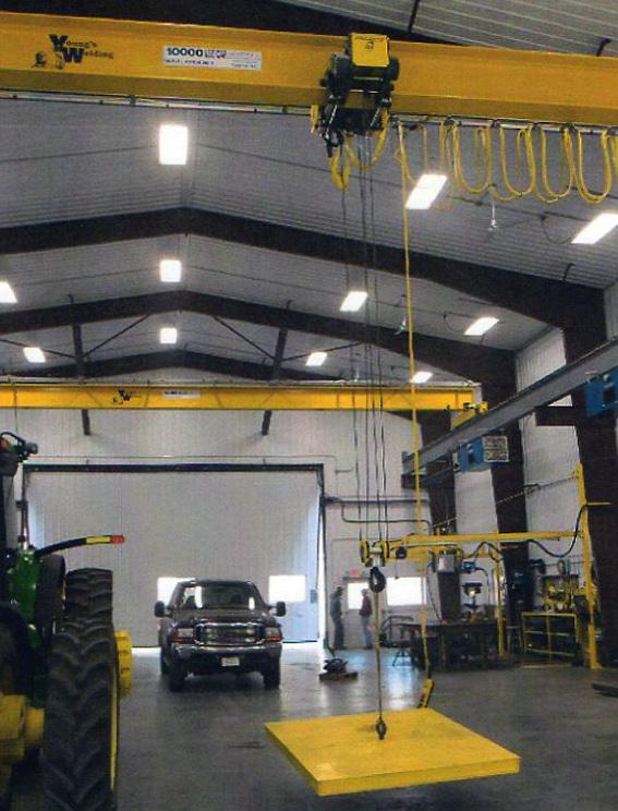 Cranes, Youngs Welding and Repair, Friend Nebraska