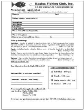 NFC Membership Form