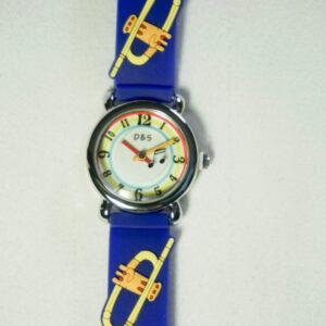 brass horn watch
