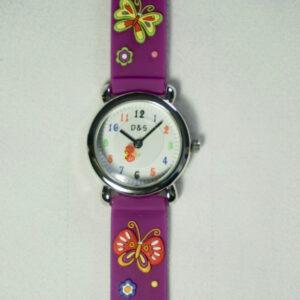 Butterflies & Flowers Watch