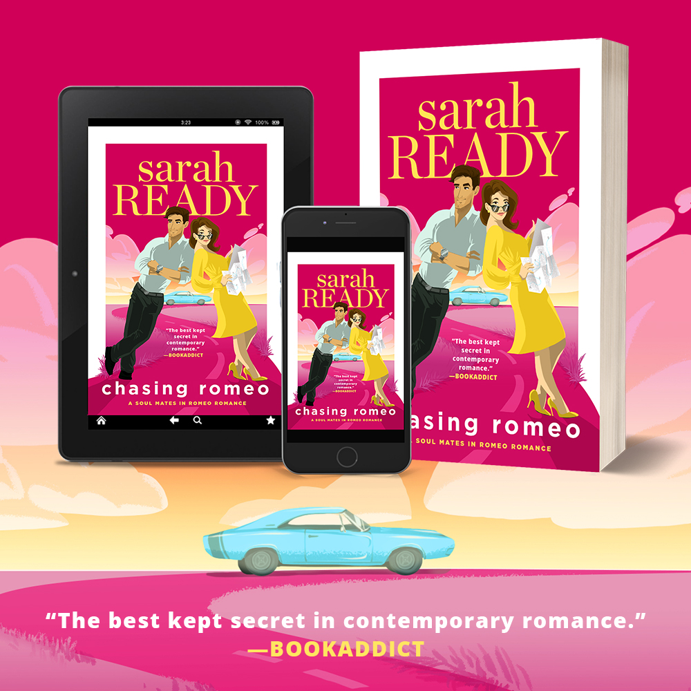 best new romcom romance book Chasing Romeo by Sarah Ready