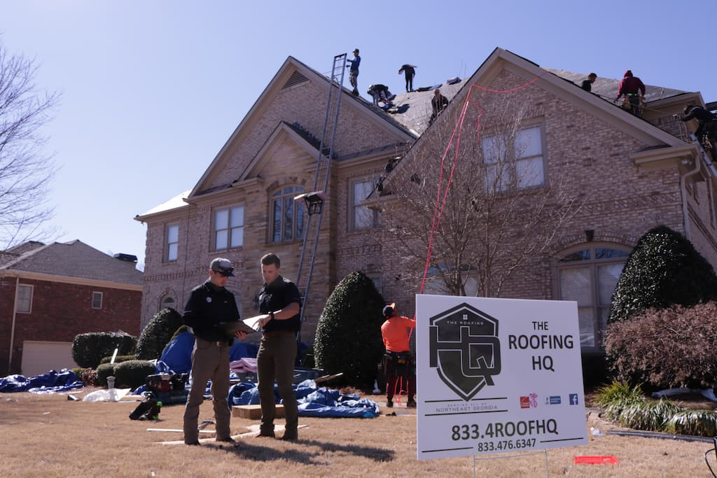 Roofing Contractors Lawrenceville GA - The Roofing HQ