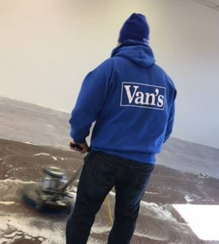 The Van's Building Service Inc.