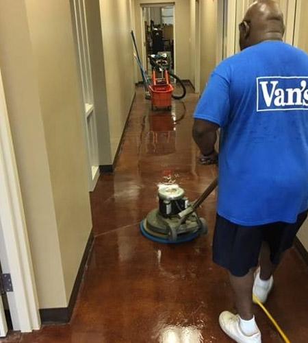 The Van's Building Service Inc.
