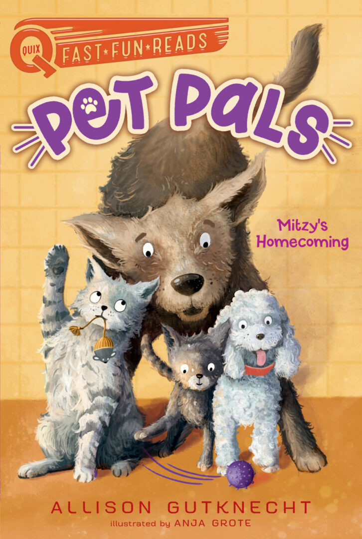 Pet Pals #1 final cover Mitzy's Homecoming
