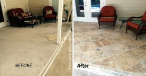 Tiling Before and After