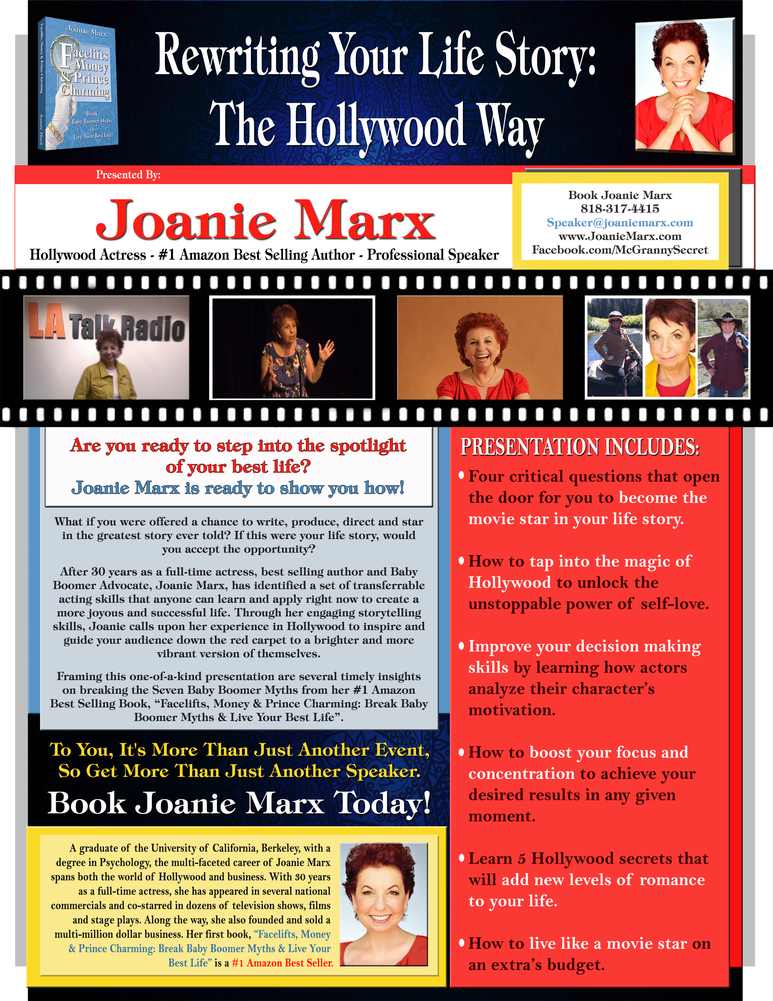 Are you ready to step into the spotlight  of your best life? Joanie Marx is ready to show you how!