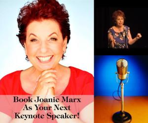 Website - Sidebar - Joanie Speaking Image