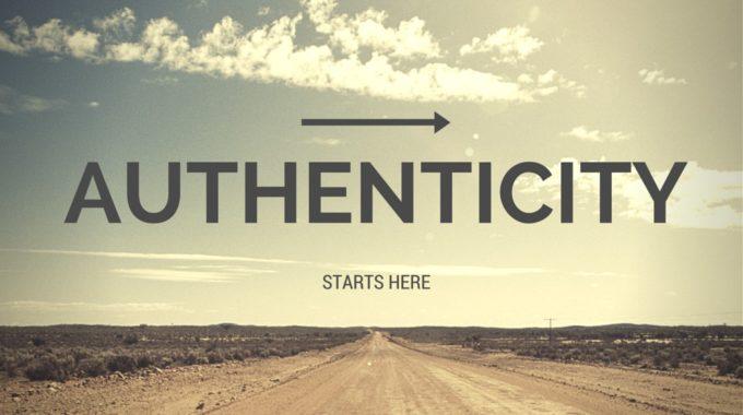 Authenticity – Joanie Marx