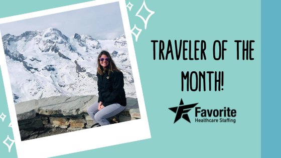 Congratulations to our First Traveler of the Month!