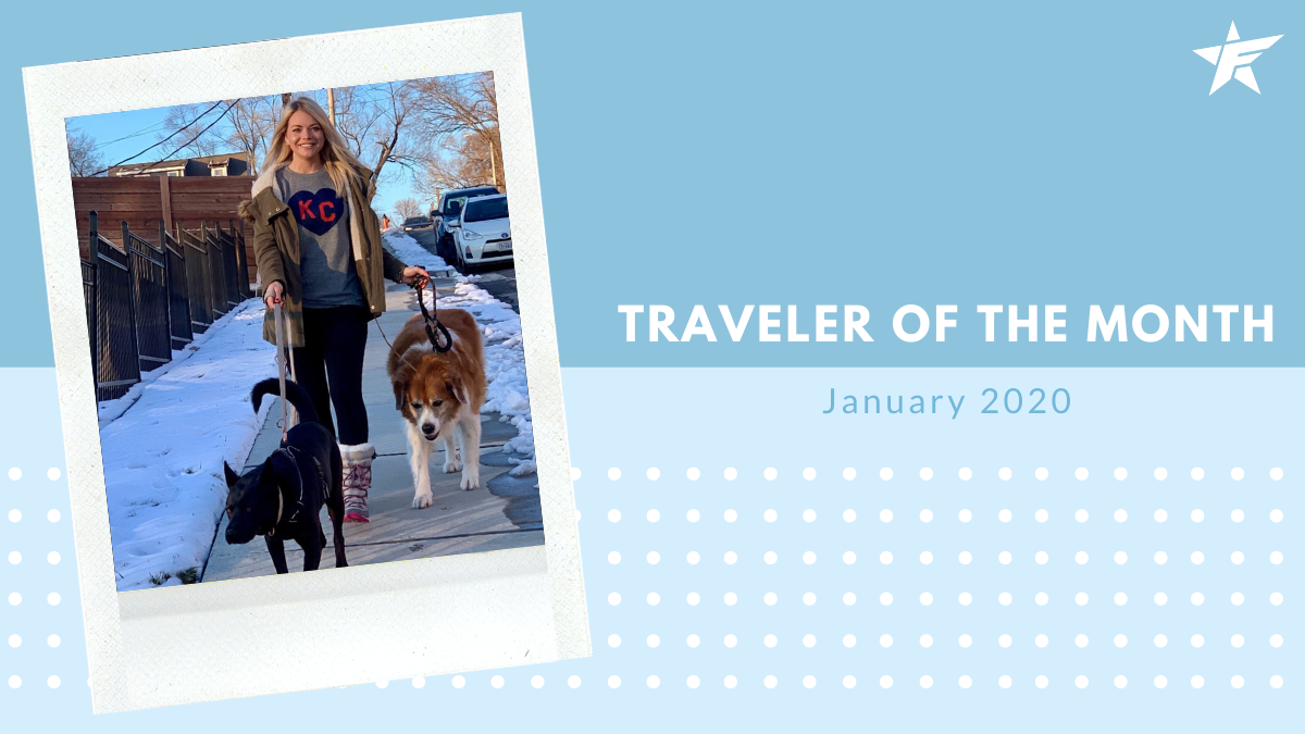 Traveler of the Month – January 2020