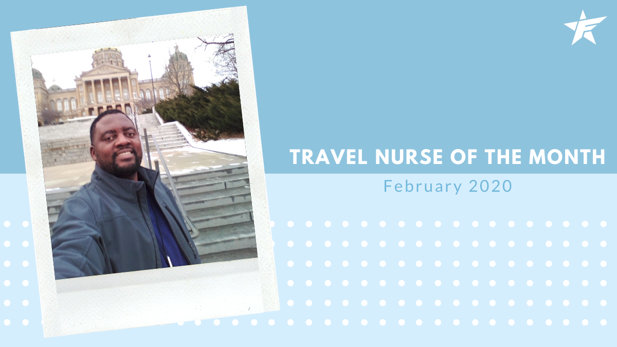Travel Nurse of the Month – February 2020