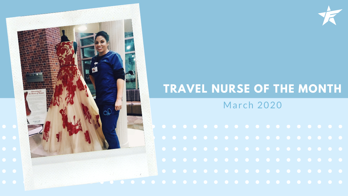 Travel Nurse of the Month – March 2020