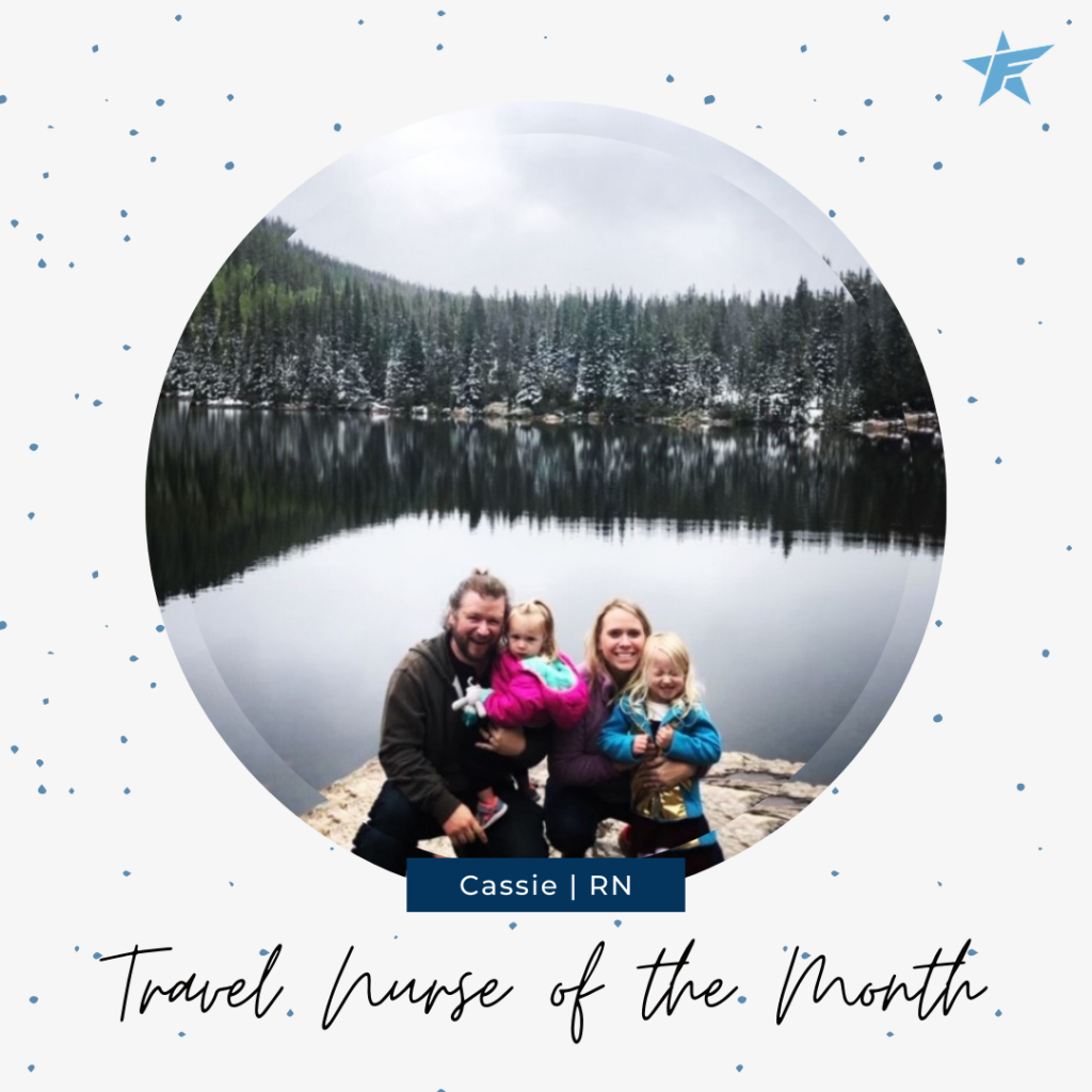 Favorite Healthcare Staffing October Travel Nurse of the Month