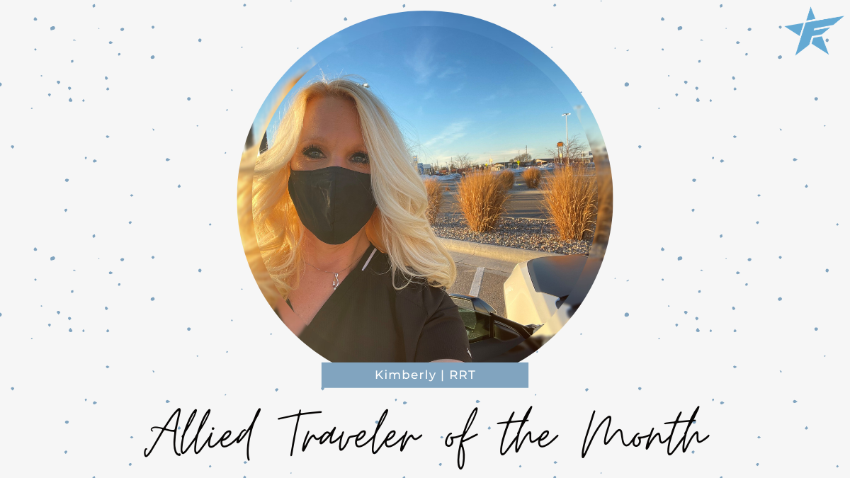 Allied Health Traveler of The Month