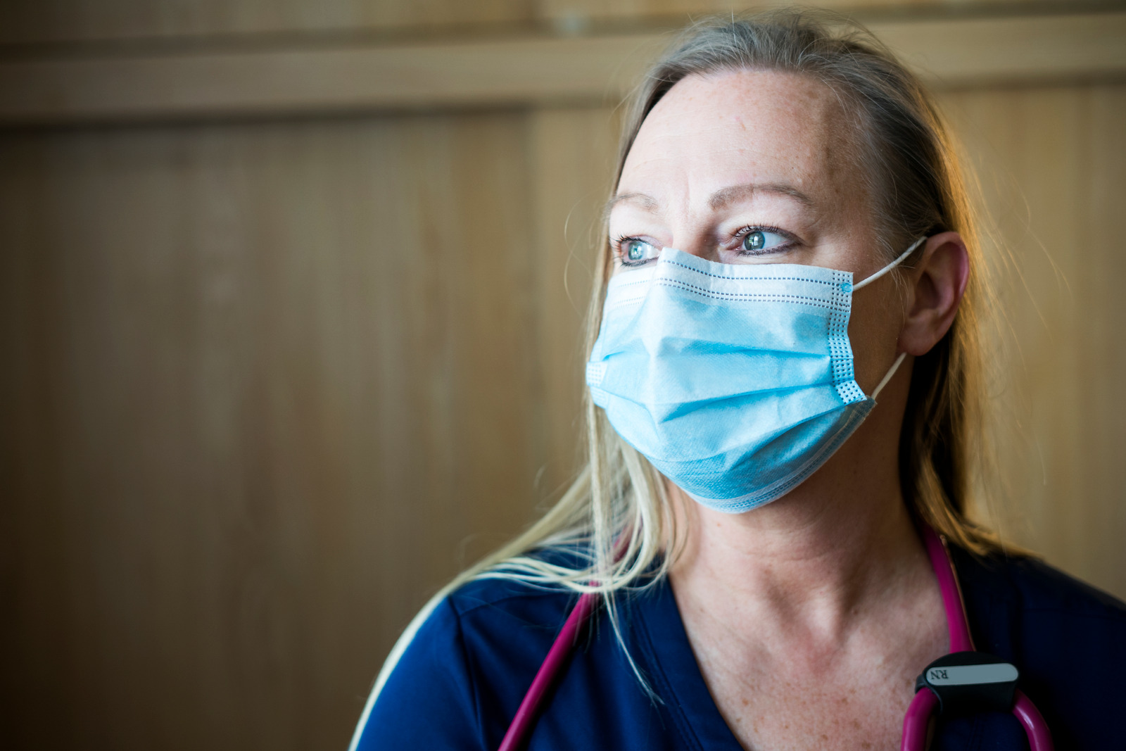 Nurse working during Covid-19