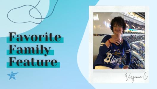 #FavoriteFamilyFeature – Virginia C