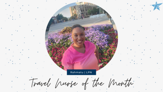 Travel Nurse of the Month – August 2021