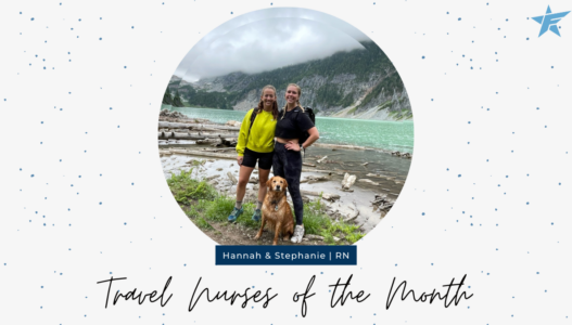 Travel Nurses of the Month – October 2021