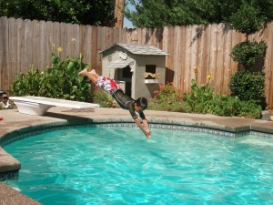 Add more chemicals into your pool and test it more often to keep your pool properly balanced and the water sparkling clean.
