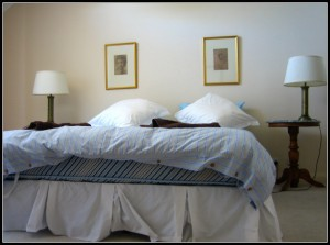 Make your bedroom more comfy.