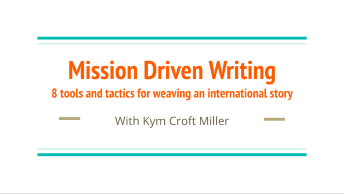 Mission-driven writing image