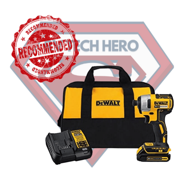 This Impact Driver is highly recommended by RV Tech Hero