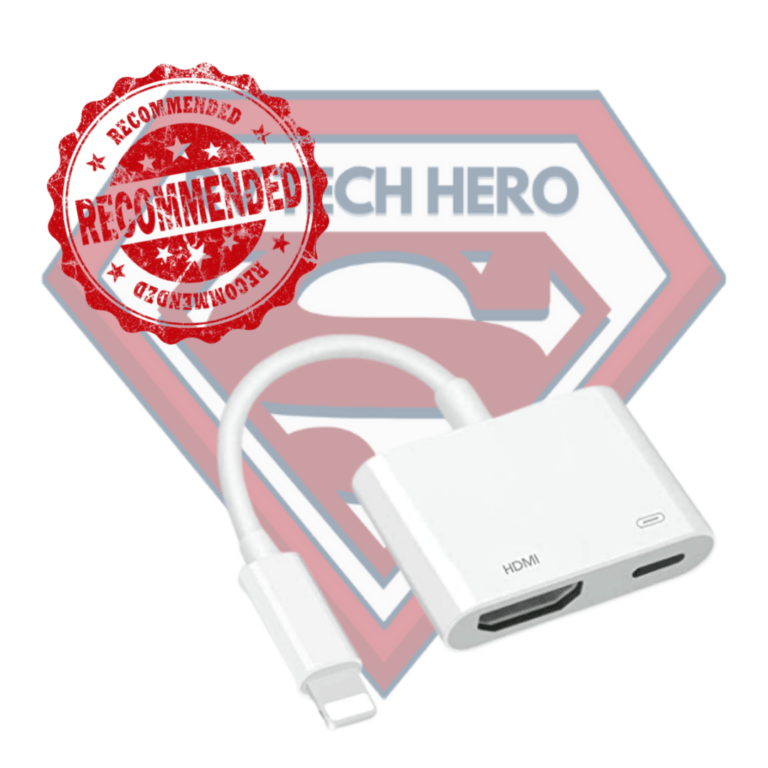This Lightening Connector is recommended by RV Tech Hero