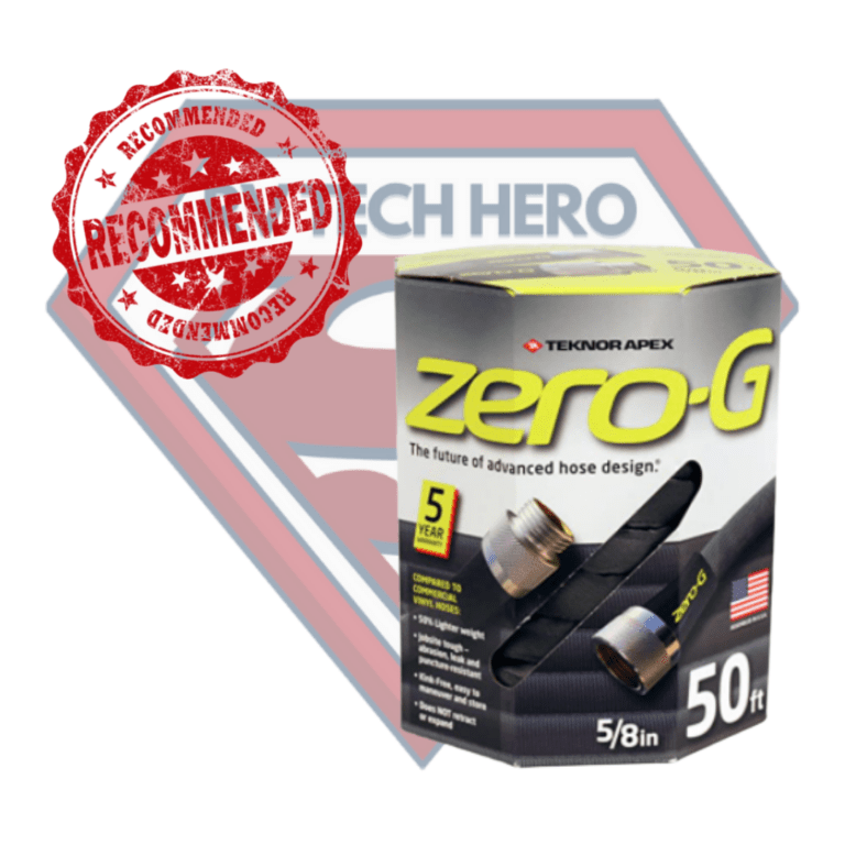 This is why RV Tech Hero recommends Zero G Water Hose
