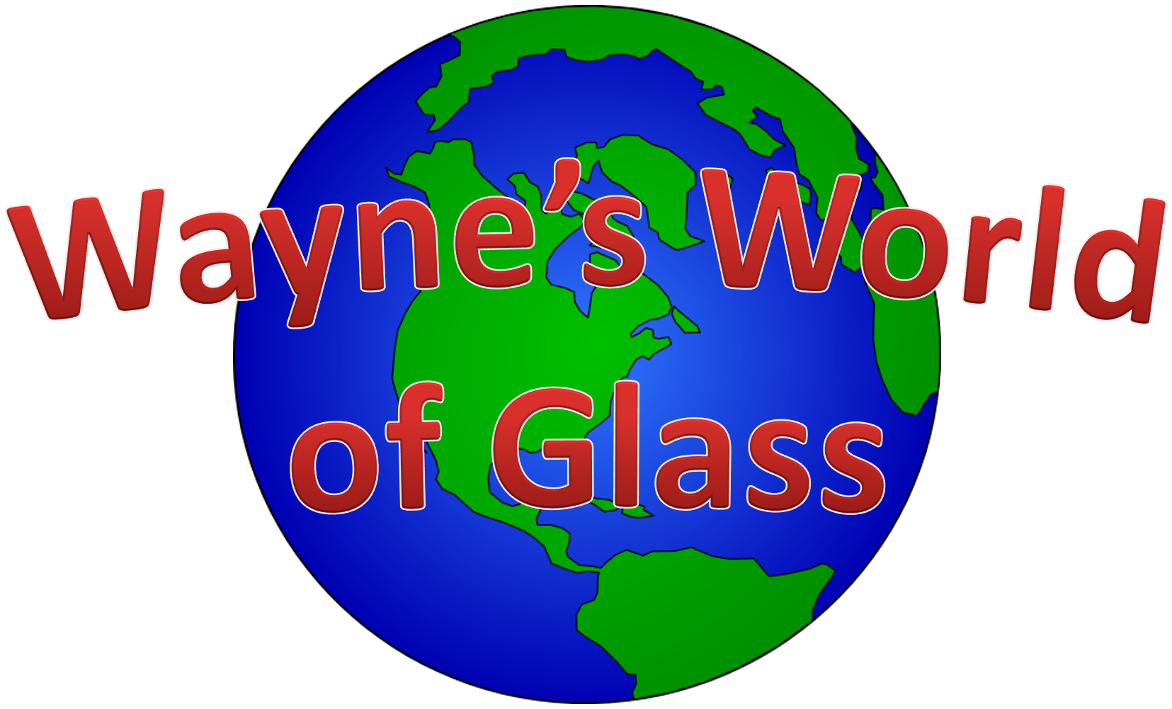 Wayne's World of Glass logo
