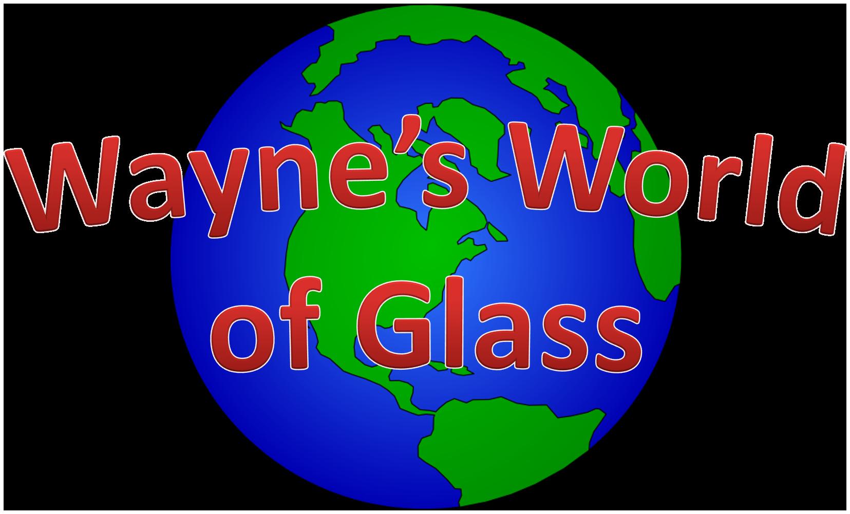 Wayne's World of Glass logo