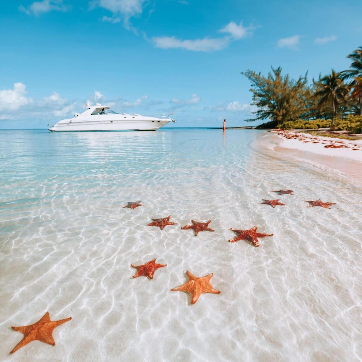 Cayman Islands Tourism Association - Global Concierge Citizen Program - Charter Boat to Starfish Point - Seascape Villa