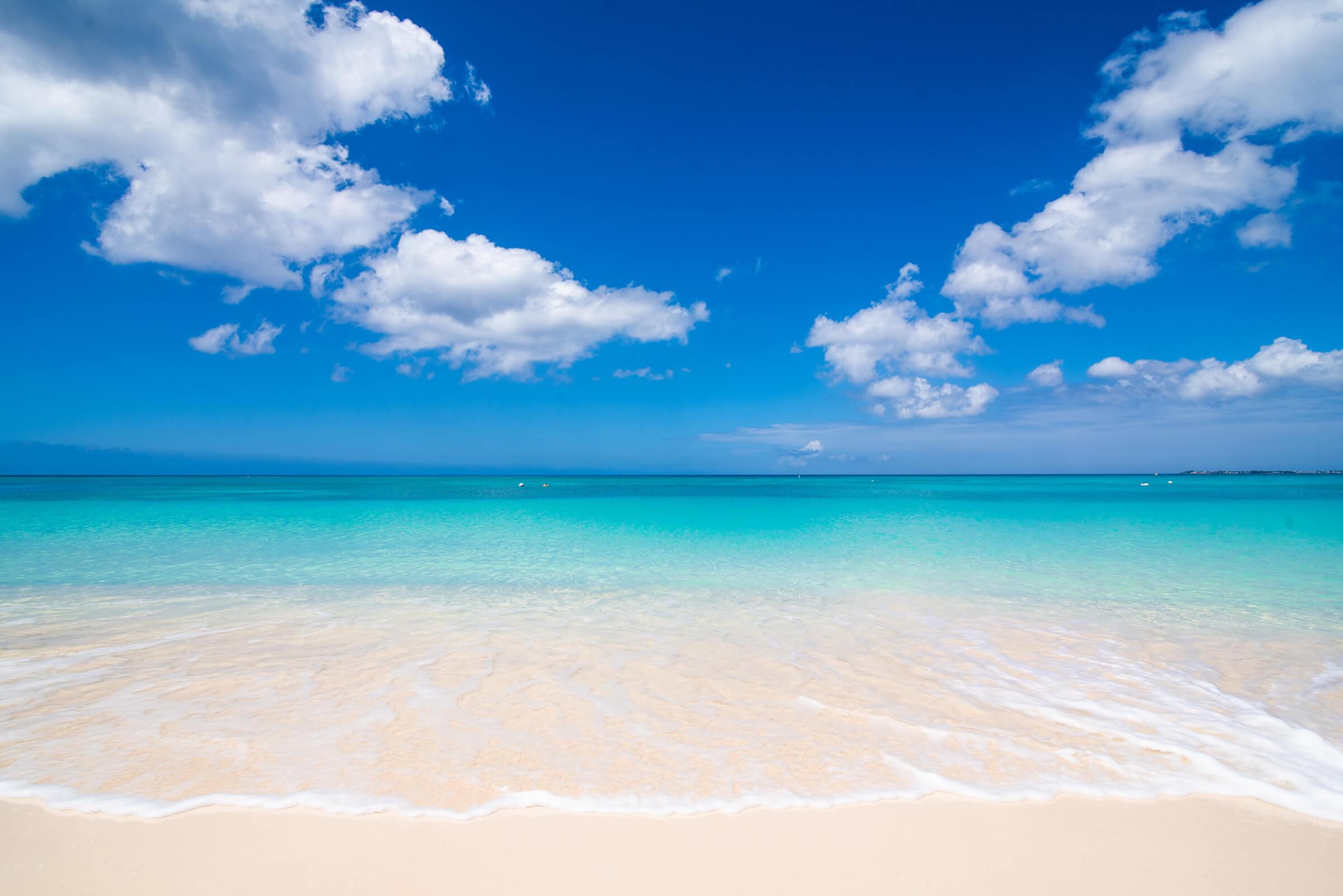 Seascape Villa Cayman Islands Grand Cayman Beachfront Luxury Caribbean Vacation Seven Mile Beach