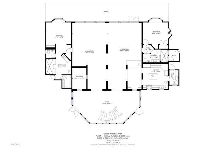 Seascape Floorplan 1