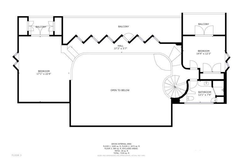 Seascape Floorplan 3