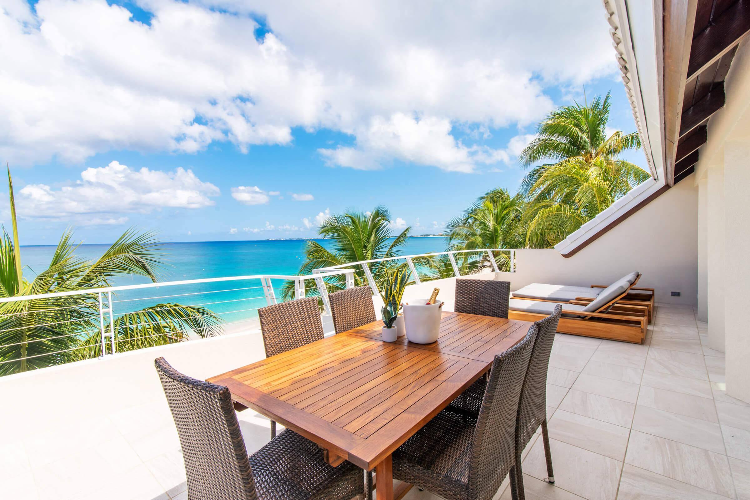 Seascape Villa Cayman Islands Grand Cayman Family Beachfront Luxury Caribbean Vacation Rental