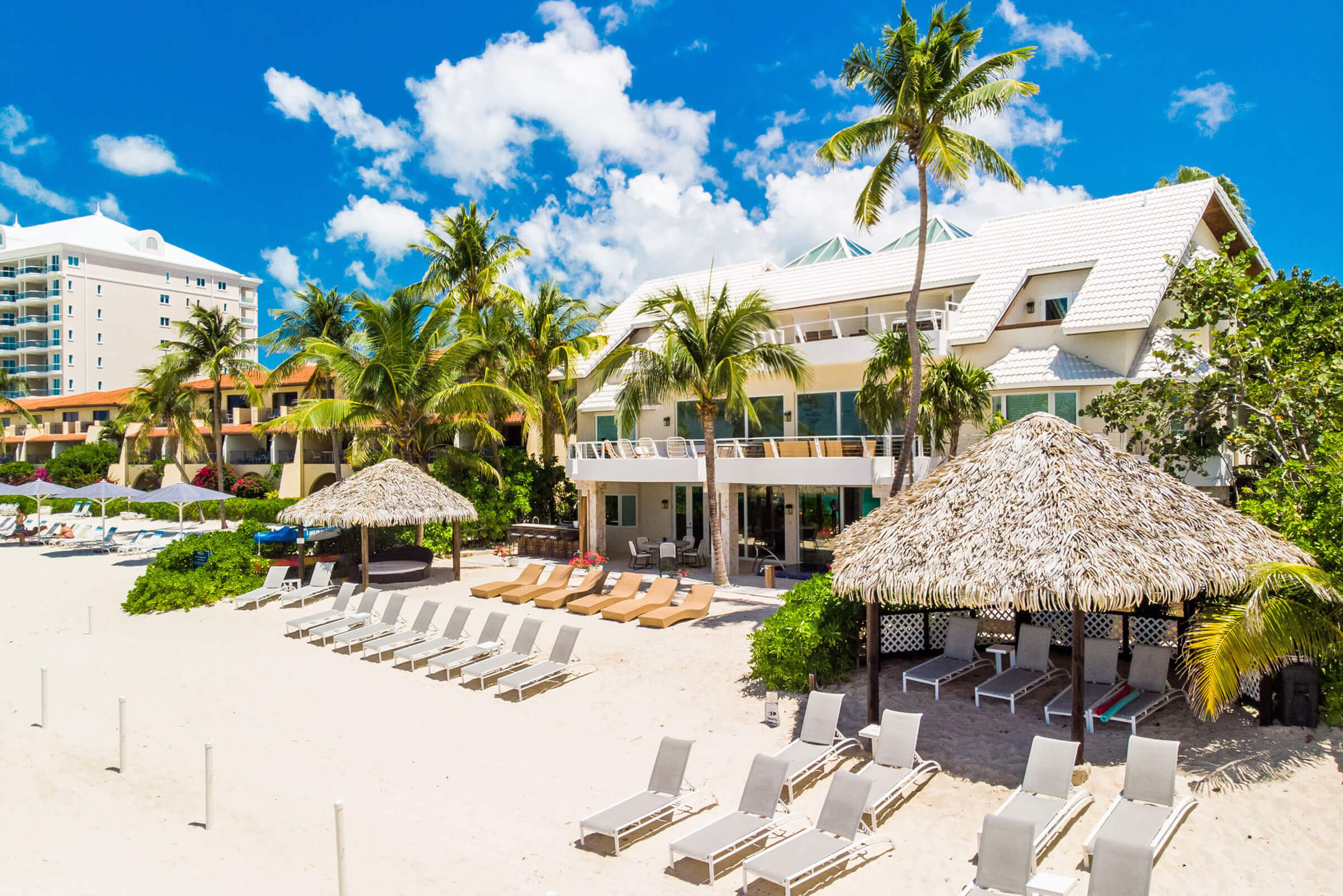 Seascape Villa Cayman Islands Grand Cayman Beachfront Luxury Caribbean Vacation and Staycations Seven Mile Beach