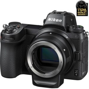 Nikon_Z6_Full-Frame_Mirrorless_Digital_Camera_With_FTZ_Adapter_front_