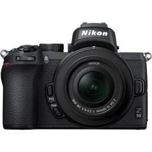 Nikon_Z_50_Mirrorless_Digital_Camera_with_16-50mm_Lens_top_front_2