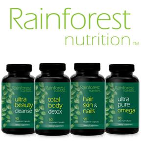 Rainforest Nutrition Products
