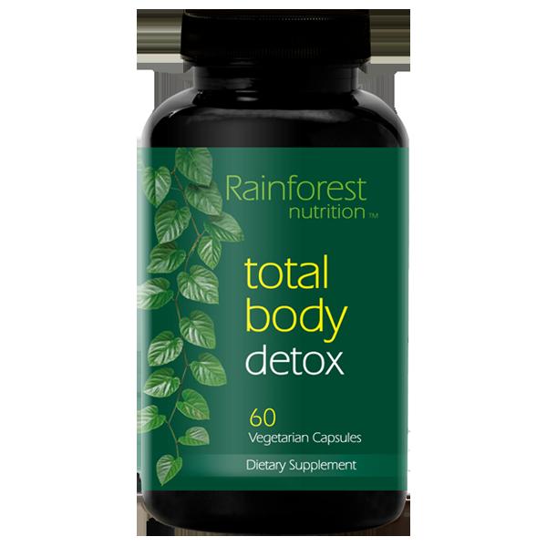 Rainforest Total Body Detox Bottle