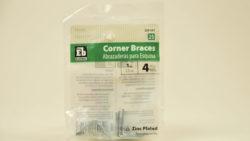 Corner Brace - 1in (4pk) L Corner Brace Part#339547
