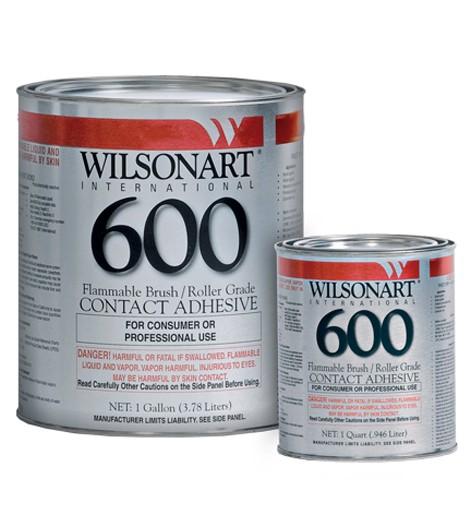 WA 600 1Qt and 1G Glue