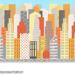Y0006X Big City Traffic (Landscape) - Wilsonart