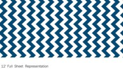 Y0104 Moody Blue Chevron - Wilsonart