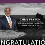 Chris Fryson Named San Diego Central & Mission Hills Branch Manager