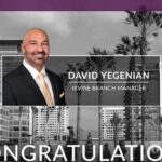 David Yegenian Named Irvine Branch Manager