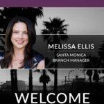 We Warmly Welcome Melissa Ellis