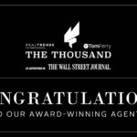 Congratulations to Our Agents Who Rank Among Nation's Top 1,000 REALTORS®