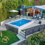 Mid-Century Modern on Mulholland Drive Sits Atop Bel-Air